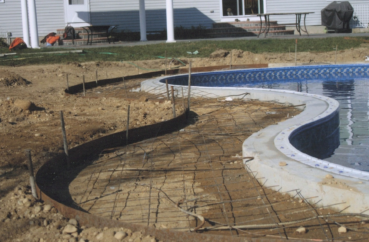 About us spectacular long island swimming pools specht tacular pools for Vermiculite swimming pool base